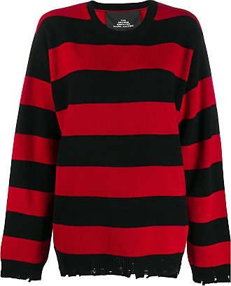 Marc Jacobs Suéter oversized listrado - Vermelho