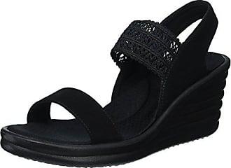 66bd0753c903 Skechers Cali Womens Rumbler Wave-Drama Diva Wedge Sandal