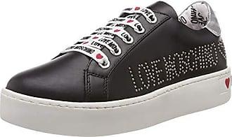 0aa9764c20f53 Love Moschino Scarpad.cassetta35, Chaussures de Gymnastique Femme, Noir  (Nero 000)