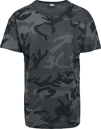 Urban Classics Camo Oversized Tee - T-Shirt - darkcamo