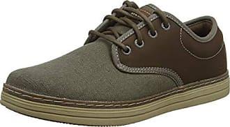 8a4ece56a52 Skechers Heston-Santano, Zapatos de Cordones Brogue para Hombre, Marrón  (Taupe TPE
