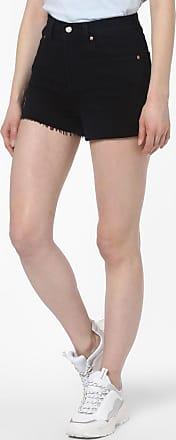 Levi's Damen Jeansshorts - Ribcage schwarz