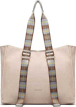 Quirk TARTAN STRAP SHOULDER BAG - PINK