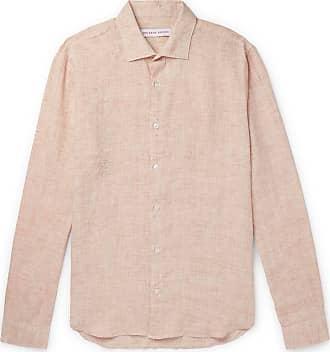Orlebar Brown Giles Linen Shirt - Neutral