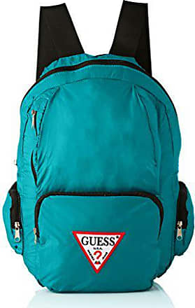 Guess Bags Backpack, Sacs à dos homme, Turquoise, 18x44x28 cm (W x 6e77c76ee021