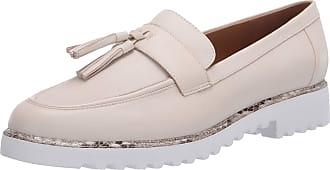 Franco Sarto Womens Carolynn 3 Loafer Flat, Putty, 5