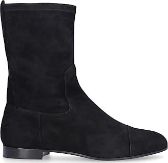 Unützer Boots 7336 suede Logo black