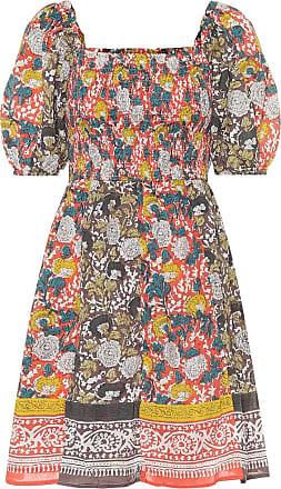 Velvet Taria floral cotton minidress
