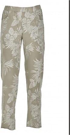 Deha Womens Pantalone Stampa Esotic II Pantaloni tempo libero Donna | grigio