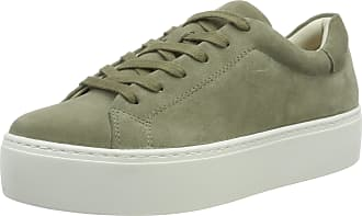 Vagabond Womens Jessie Low-Top Sneakers, (Light Olive 68), 5 UK