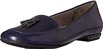 7f217076a12 Life Stride Womens Ballad Slip-On Loafer Navy 8 W US