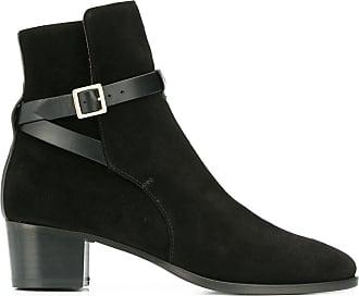 L'autre Chose Ankle boot com alça no tornozelo - Preto