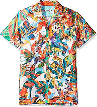 07b5f65eb5bd4e Robert Graham Mens Think Vivid Limited Edition Shirt, Multi, Large