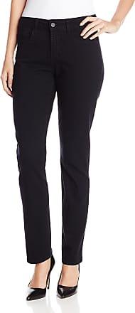 NYDJ Womens Sheri Skinny Jeans, Black, 2