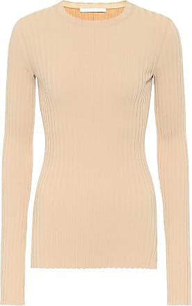 Helmut Lang Ribbed cotton-blend top