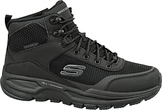 Skechers Mens Escape Plan 2.0 Snow Boots, Black (Black 51705-Bbk), 6.5 UK
