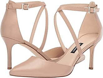2ccc35543 Nine West Mig Pointed Toe Pump (Barely Nude) Womens Shoes