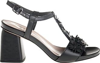 Jeannot sandalo tacco grosso, 35 / nero