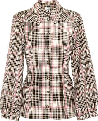 Baum Und Pferdgarten Bonny checked cotton-blend shirt