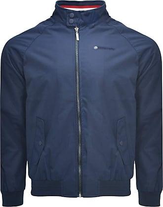 Lambretta Mens Navy//Blue Tracksuit Top Jacket Zip Up Retro Casual Jacket Coat