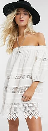 Free People Sounds of Summer tunic in cream-White