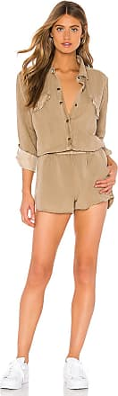 Young Fabulous & Broke Noah Romper in Brown