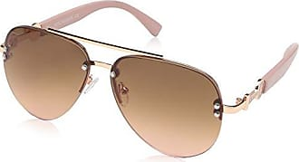 621088e2a1e47 Rocawear Womens R3295 Rgdrs Non-Polarized Iridium Aviator Sunglasses