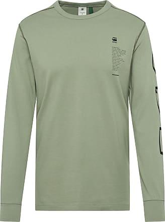 G-Star Shirt hellgrün / schwarz