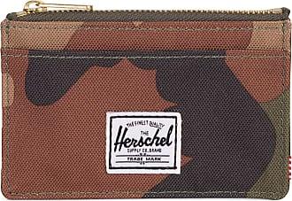 Herschel Herschel Unisexs Oscar RFID Wallet Zip, Woodland camo, One Size