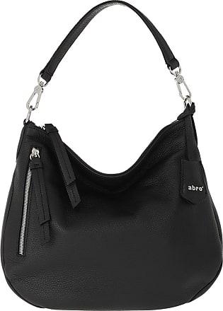 Abro Hobo Bags - Beutel Juna Small Black Nickel - black - Hobo Bags for ladies