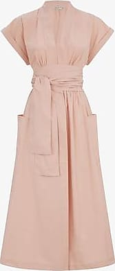 Three Graces London Clarissa Dress in Rosa