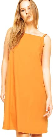 Finery Vestido Finery London Juniper Square Neck Cami Dress Laranja