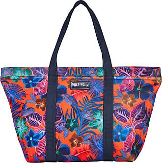 Vilebrequin Accessories - Water resistant big Beach Bag Porto Rico - BEACH BAG - BAGSIB - Orange - OSFA - Vilebrequin