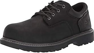 Wolverine Mens Floorhand Oxford Steel Toe Construction Shoe, Black, 7 M US