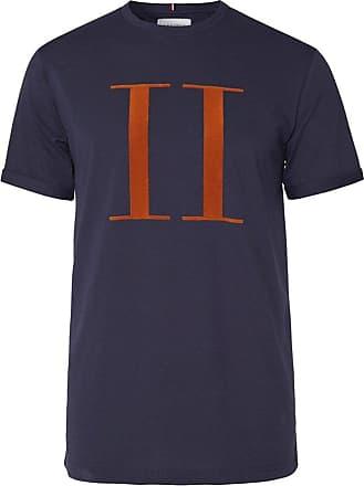 blå oransje hvit T skjorte for menn   Spreadshirt