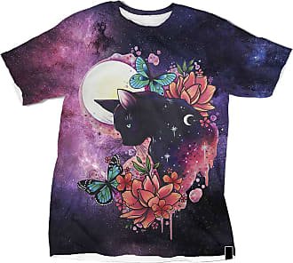 NA Black Cat Butterfly Flower 3D Shirt