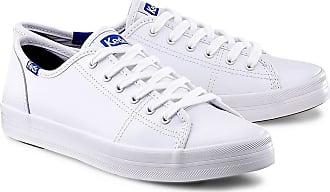 Keds Sneaker Kickstart in weiß, Schnürschuhe für Damen