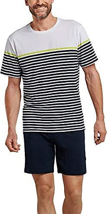 Schiesser Schlafanzug Kurz Pigiama Uomo