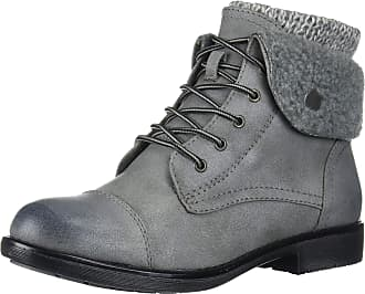 White Mountain Womens Duena Hiking Boot, Light Grey, 4.5 UK