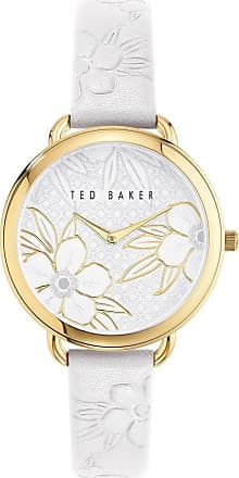 Acotis Limited Ted Baker Watches Ladies Hetttie Gold Tone White Watch BKPHTS004