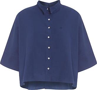 Dudalina Camisa Ampla - Azul