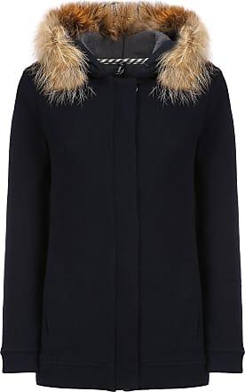 Woolrich Wolle Baumwolle Nylon Fleece Womens Hoodie - Wool / Cotton / Nylon   s
