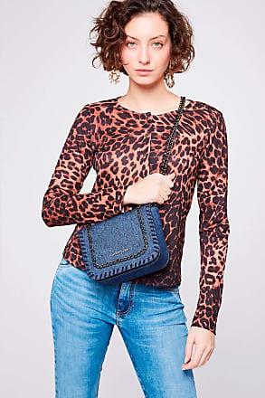 Damyller Bolsa Jeans com Correntes Tam: UC/Cor: BLUE