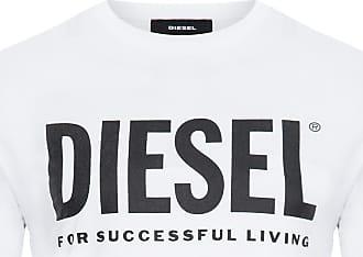 Diesel CAMISETA MASCULINA T-JUST LOGO - BRANCO