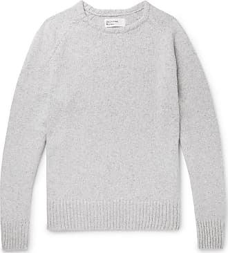 Universal Works Textured-knit Sweater - Gray