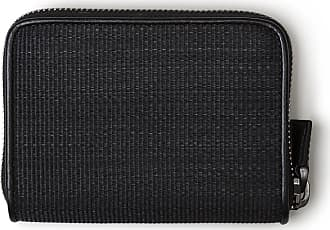 MQaccessories Small Zip Wallet in Horsehair Fabric