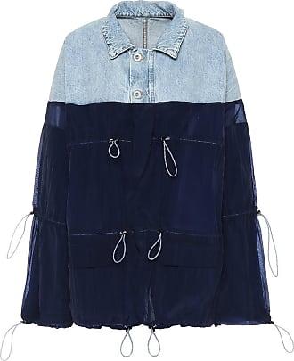 Unravel Denim and nylon jacket