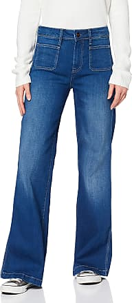 Pepe Jeans London Womens Maria 70s Flared Jeans, Blue (Archive Medium Used 000), W29/L32