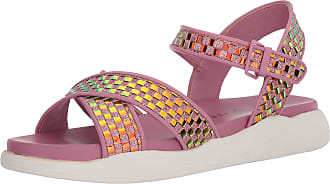 Katy Perry Womens The Pilly Flat Sandal, Violet, 5.5 UK