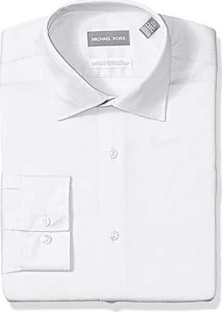 a718192db Michael Kors Mens Slim Fit Dress Shirt -White, 16 Neck 32-33 Sleeve